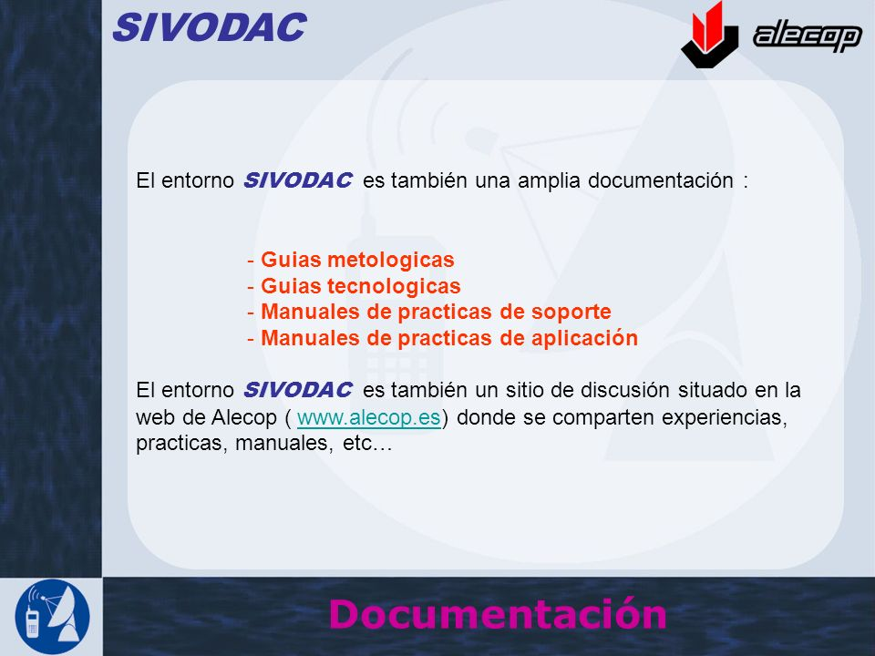 SIVODAC Documentación