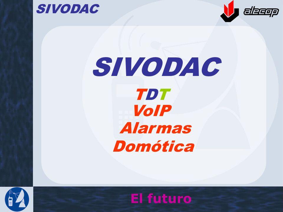 SIVODAC SIVODAC TDT VoIP Alarmas Domótica El futuro