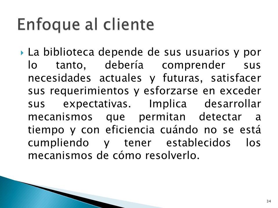 Enfoque al cliente