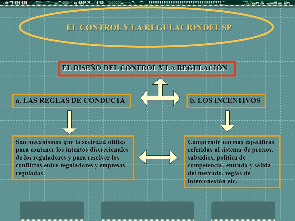 EL CONTROL Y LA REGULACION DEL SP