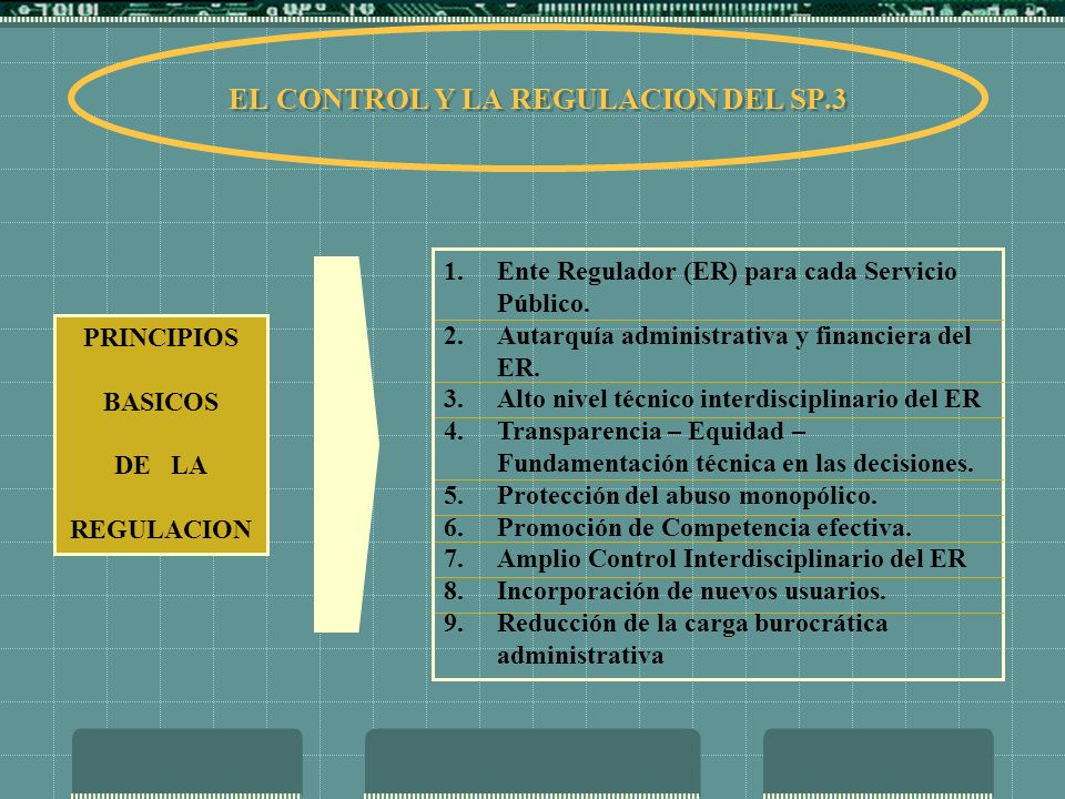 EL CONTROL Y LA REGULACION DEL SP.3