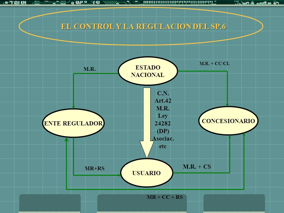 EL CONTROL Y LA REGULACION DEL SP.6
