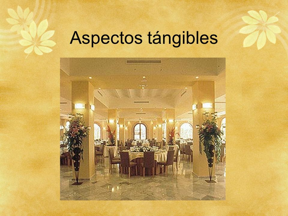 Aspectos tángibles