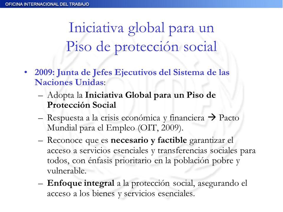 Iniciativa global para un Piso de protección social