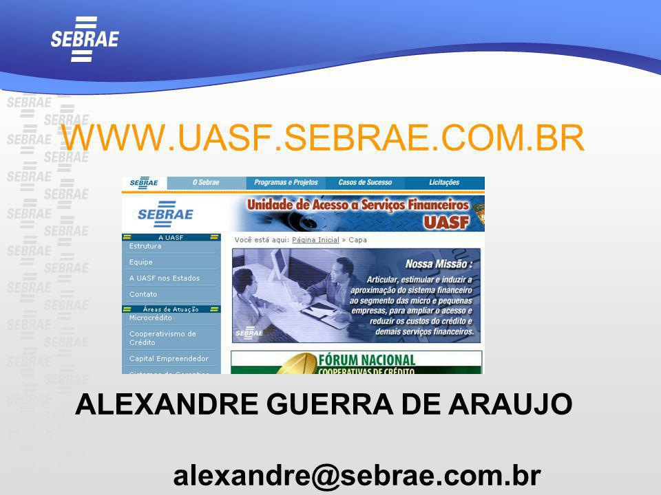 ALEXANDRE GUERRA DE ARAUJO