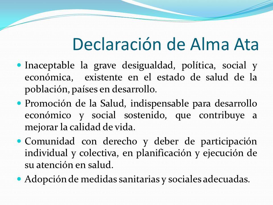 Declaración de Alma Ata