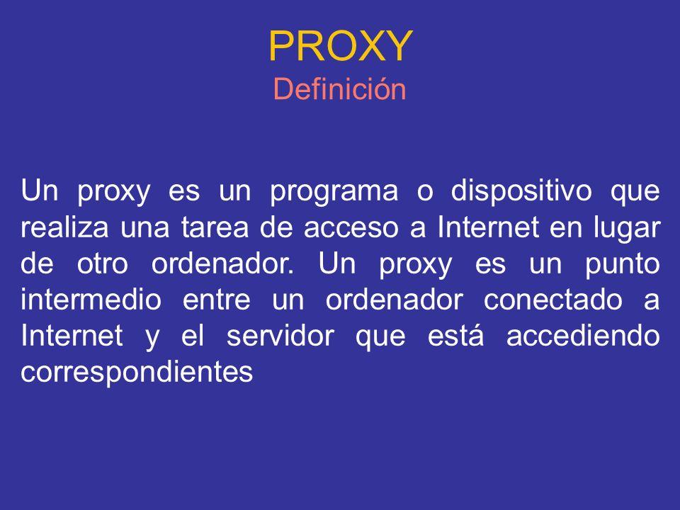PROXY Definición