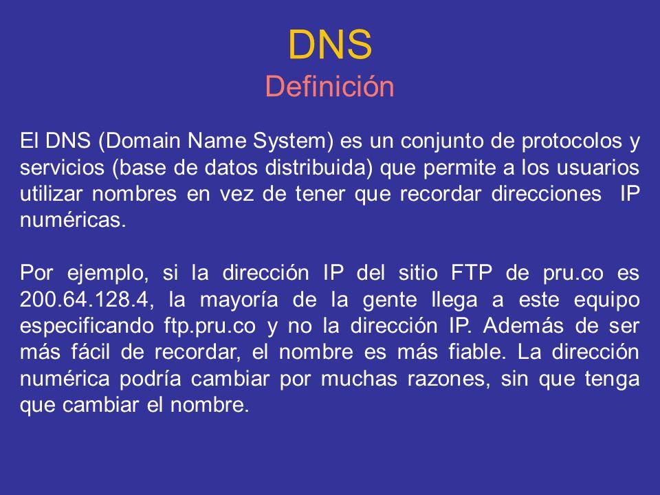 DNS Definición