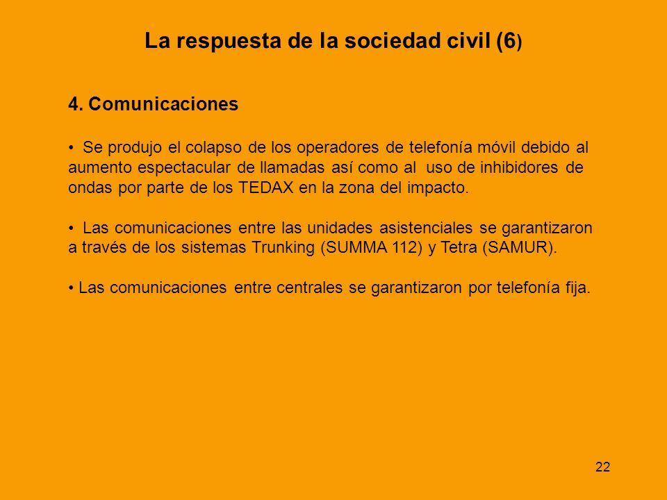 La respuesta de la sociedad civil (6)