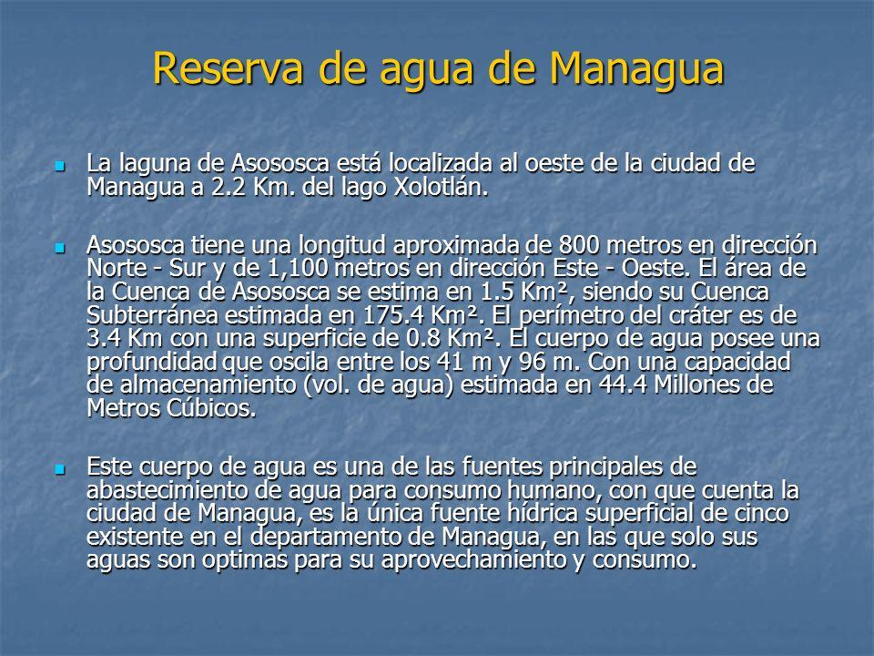 Reserva de agua de Managua