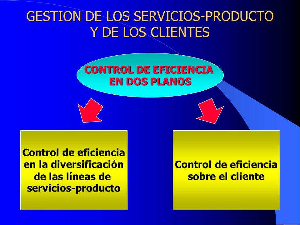 GESTION DE LOS SERVICIOS-PRODUCTO Y DE LOS CLIENTES