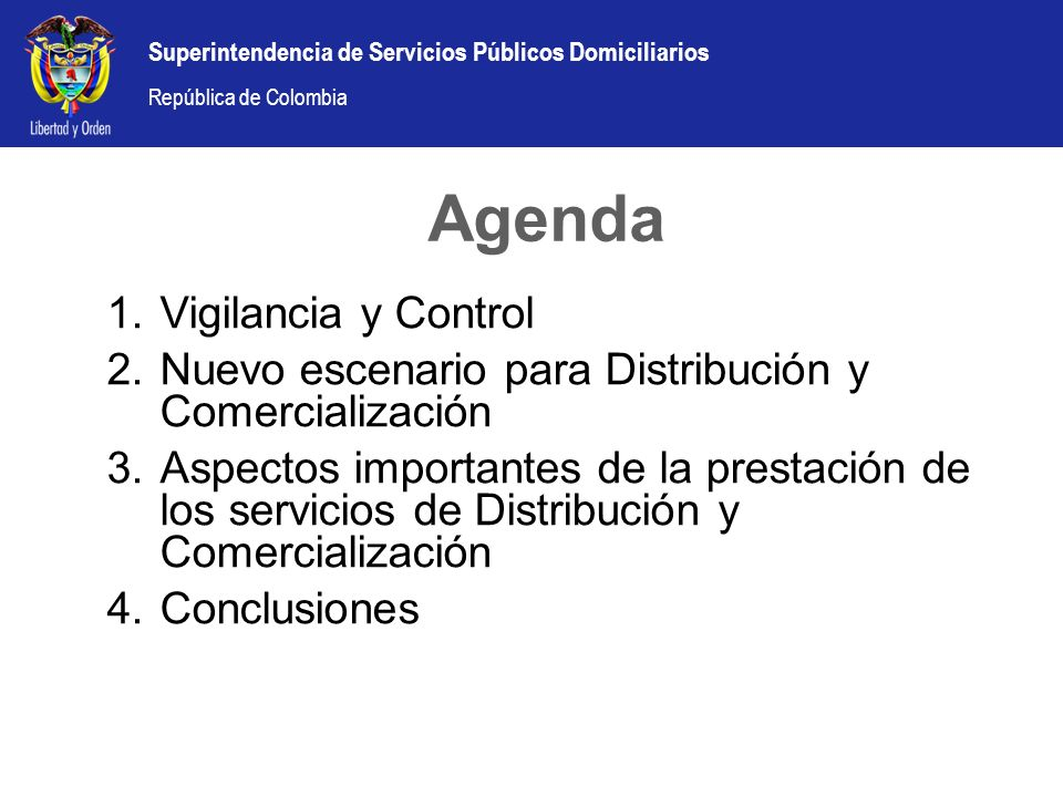 Agenda Vigilancia y Control