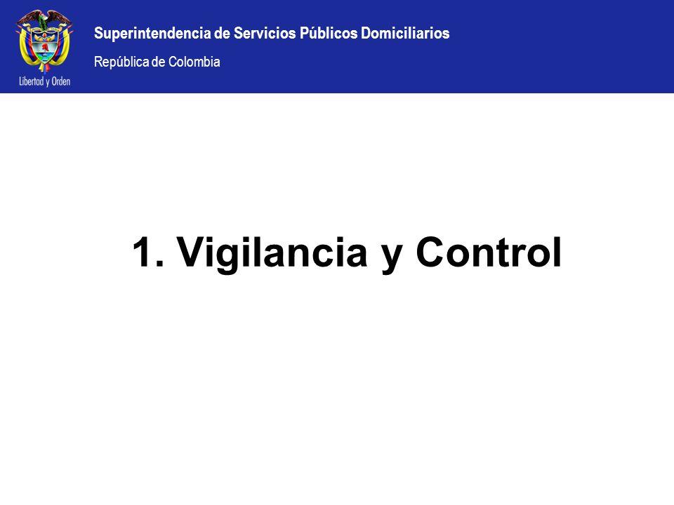 1. Vigilancia y Control