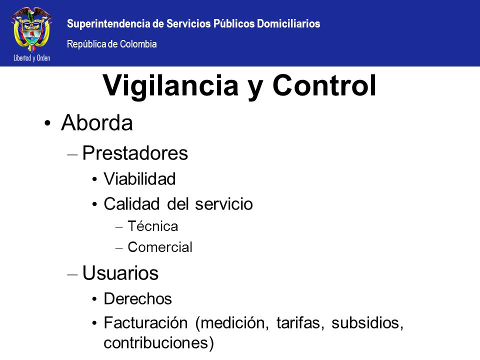Vigilancia y Control Aborda Prestadores Usuarios Viabilidad
