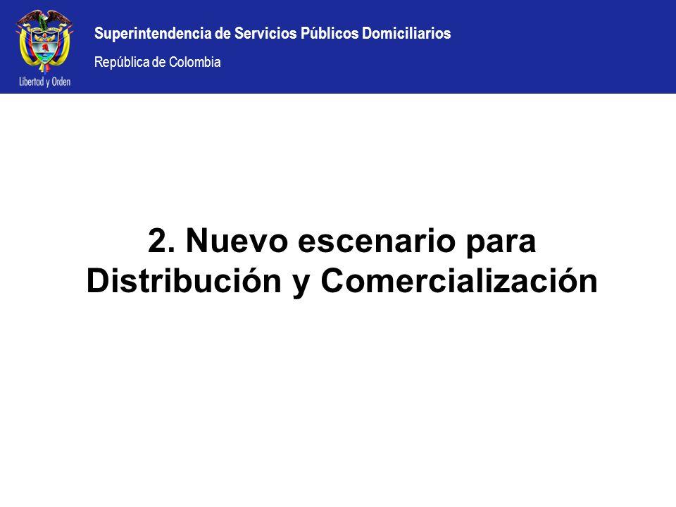2. Nuevo escenario para Distribución y Comercialización