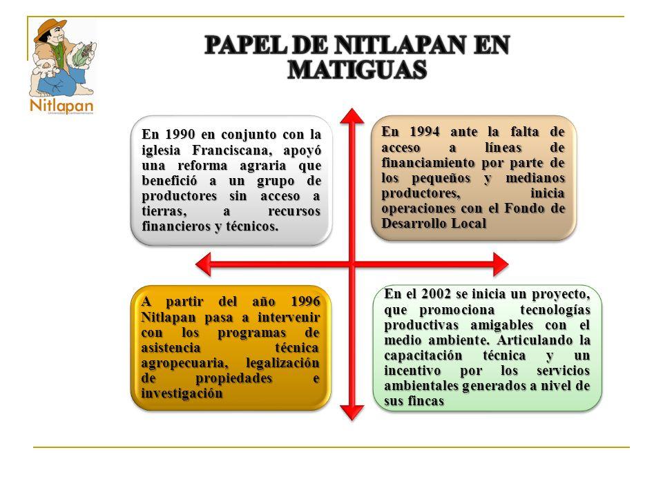 PAPEL DE NITLAPAN EN MATIGUAS
