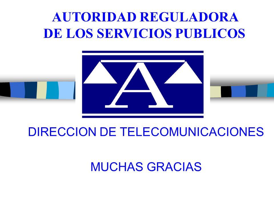 DIRECCION DE TELECOMUNICACIONES MUCHAS GRACIAS