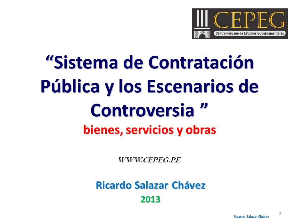 Ricardo Salazar Chávez 2013