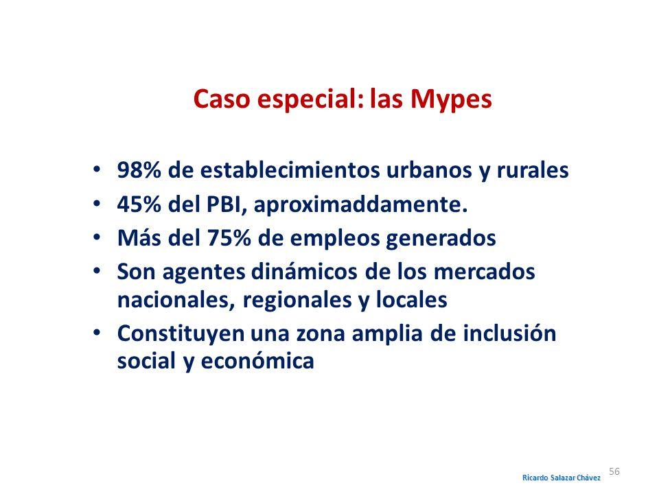 Caso especial: las Mypes