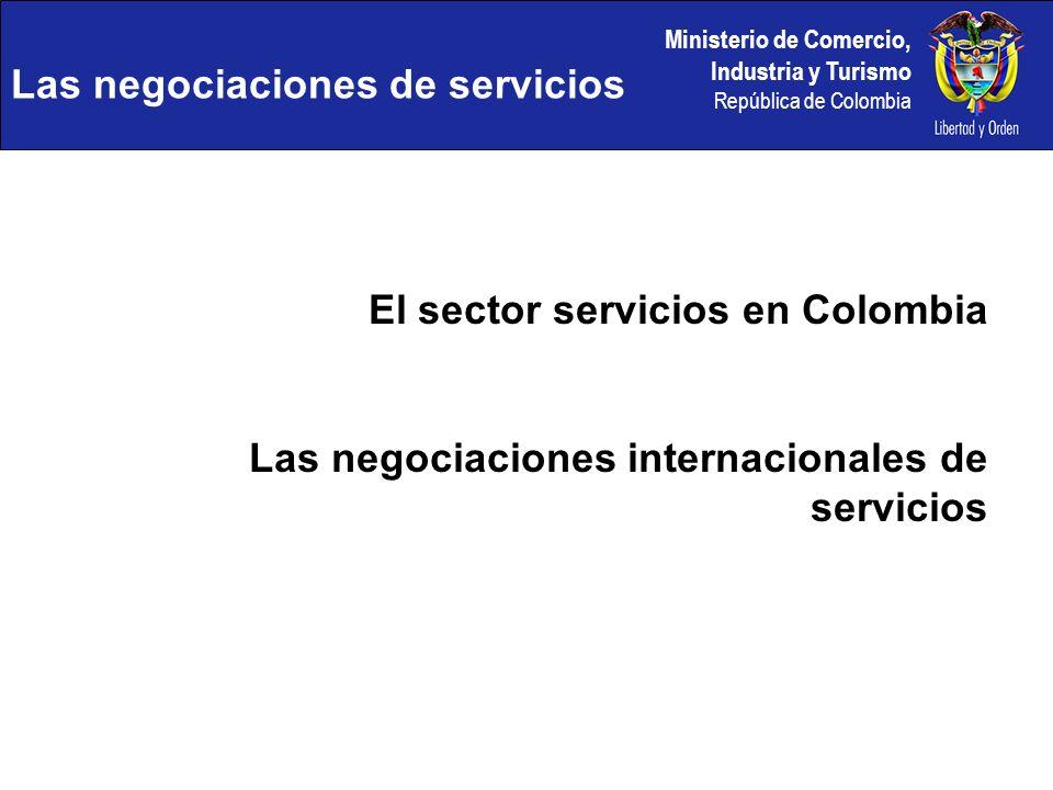 Las negociaciones de servicios