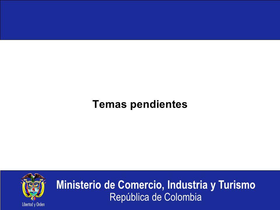 Temas pendientes ENCARGADO: MCX