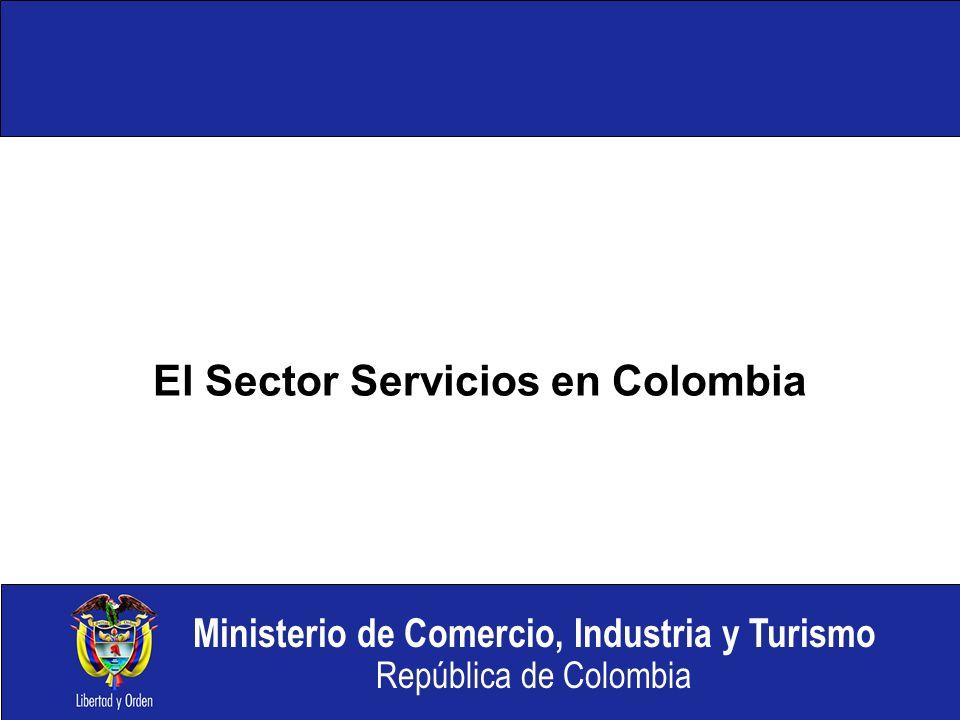 El Sector Servicios en Colombia