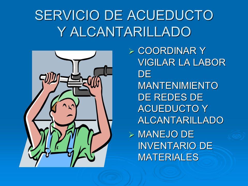 SERVICIO DE ACUEDUCTO Y ALCANTARILLADO