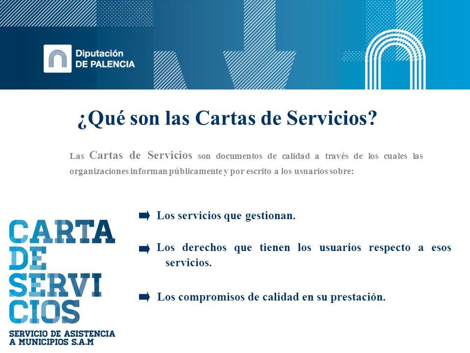 ¿Qué son las Cartas de Servicios
