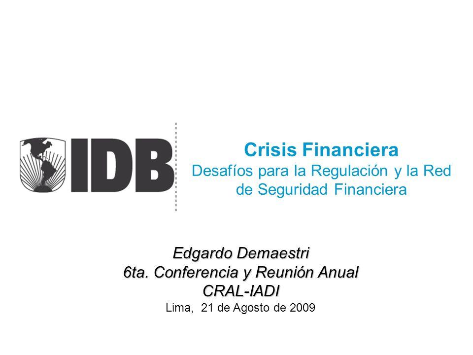 6ta. Conferencia y Reunión Anual CRAL-IADI