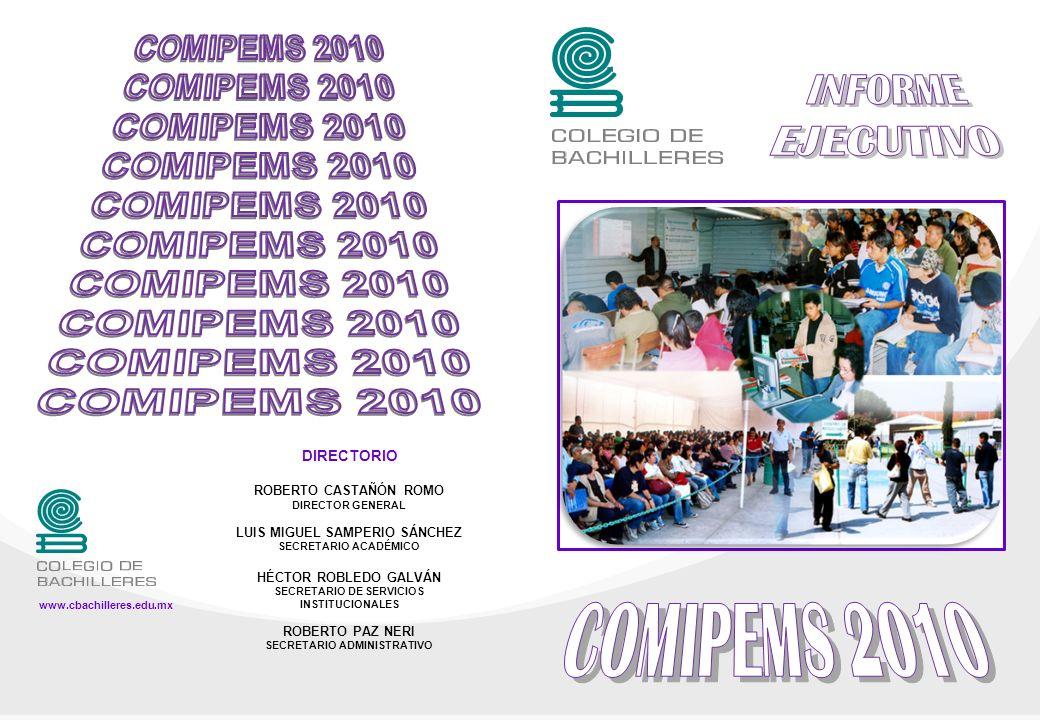 INFORME EJECUTIVO COMIPEMS 2010