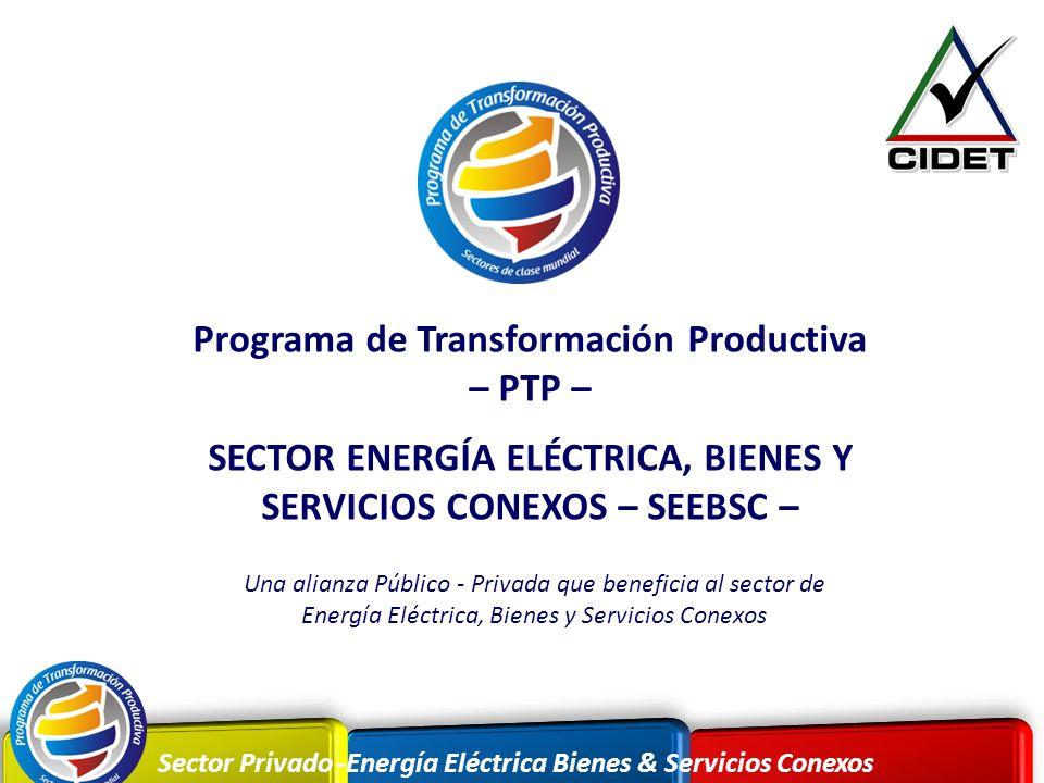 Programa de Transformación Productiva – PTP –