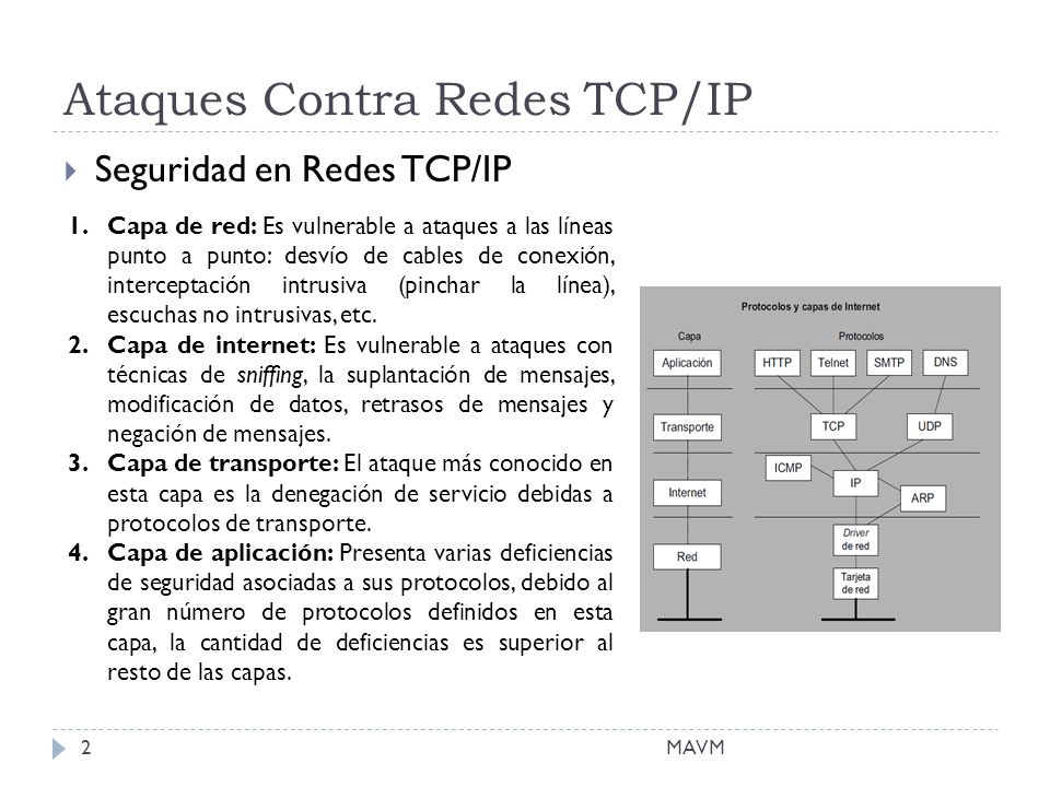 Ataques Contra Redes TCP/IP