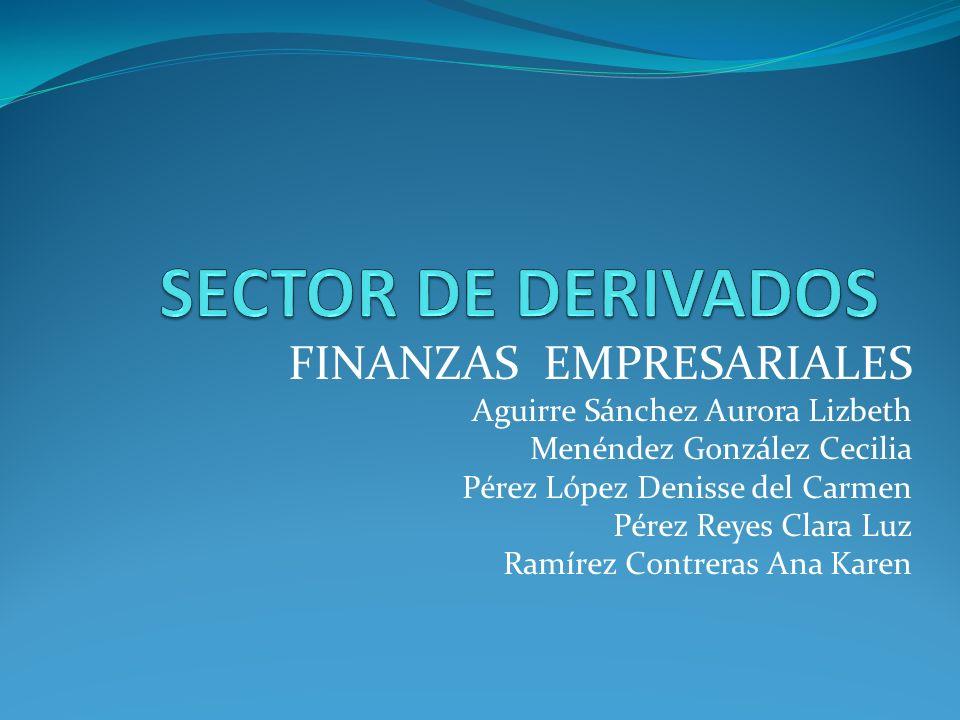 SECTOR DE DERIVADOS FINANZAS EMPRESARIALES