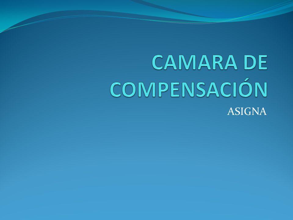 CAMARA DE COMPENSACIÓN