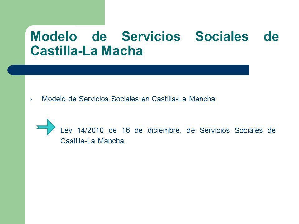 Modelo de Servicios Sociales de Castilla-La Macha