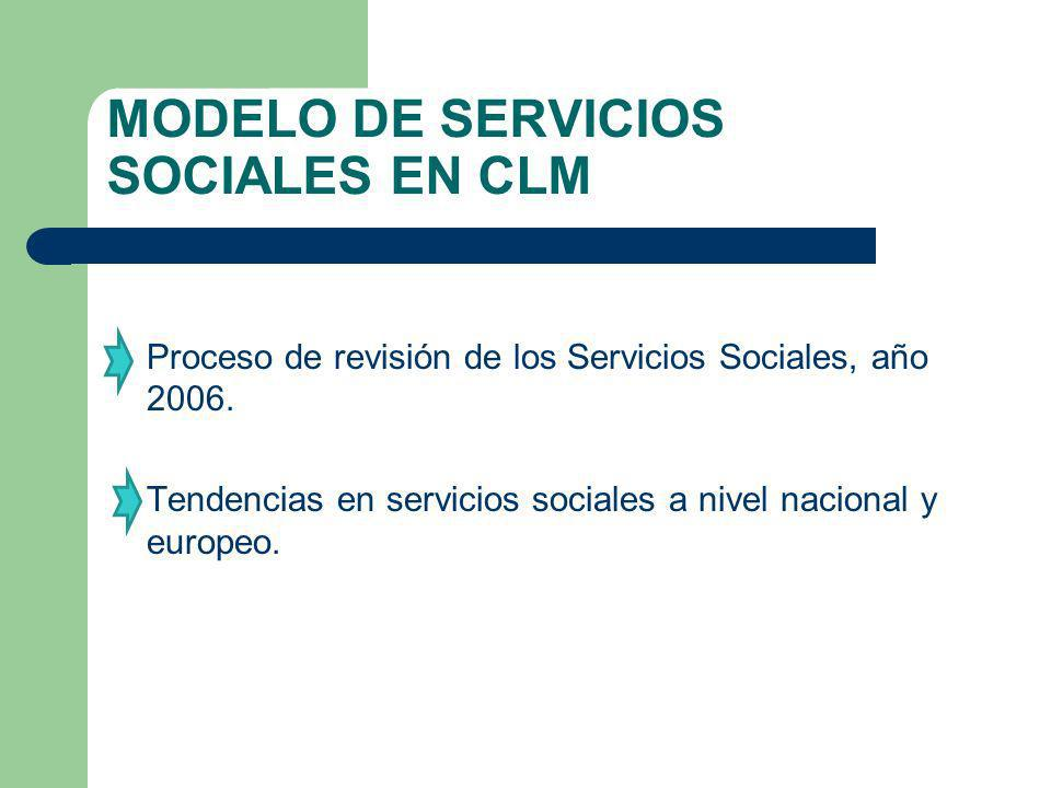 MODELO DE SERVICIOS SOCIALES EN CLM