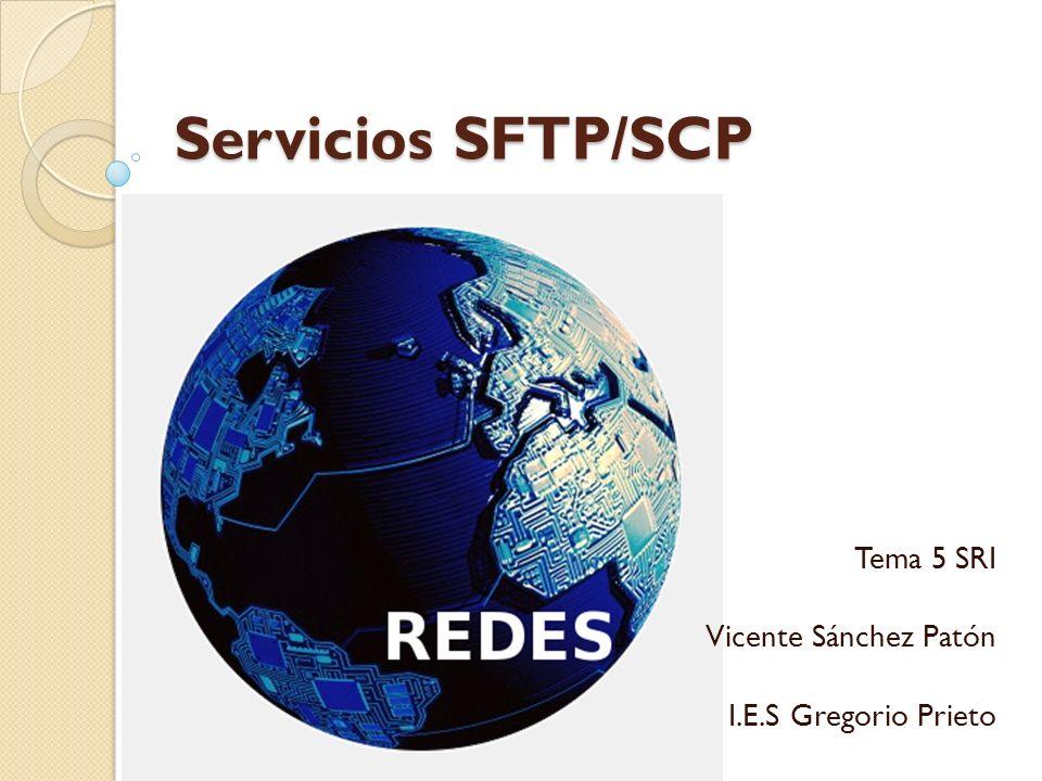 Tema 5 SRI Vicente Sánchez Patón I.E.S Gregorio Prieto
