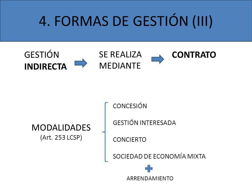 4. FORMAS DE GESTIÓN (III)