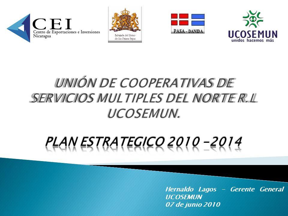 UNIÓN DE COOPERATIVAS DE SERVICIOS MULTIPLES DEL NORTE R.L UCOSEMUN.