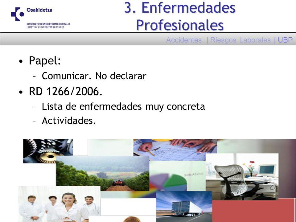 3. Enfermedades Profesionales