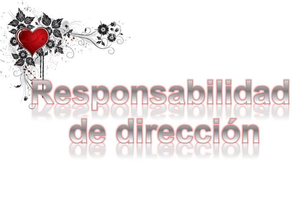 Responsabilidad de dirección