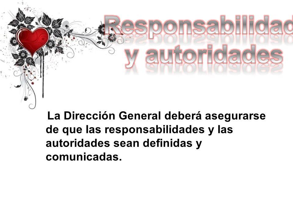 Responsabilidad y autoridades