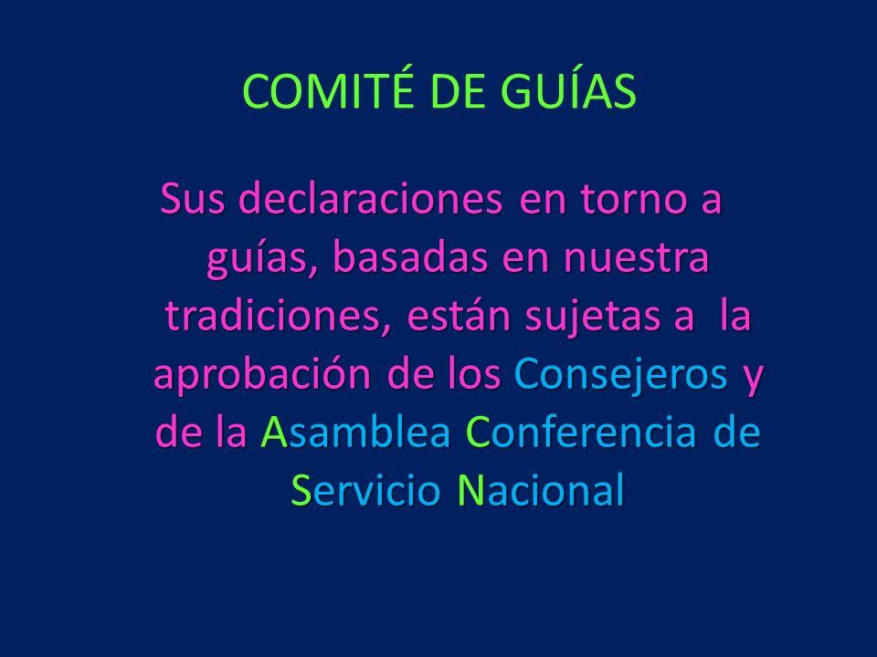 COMITÉ DE GUÍAS