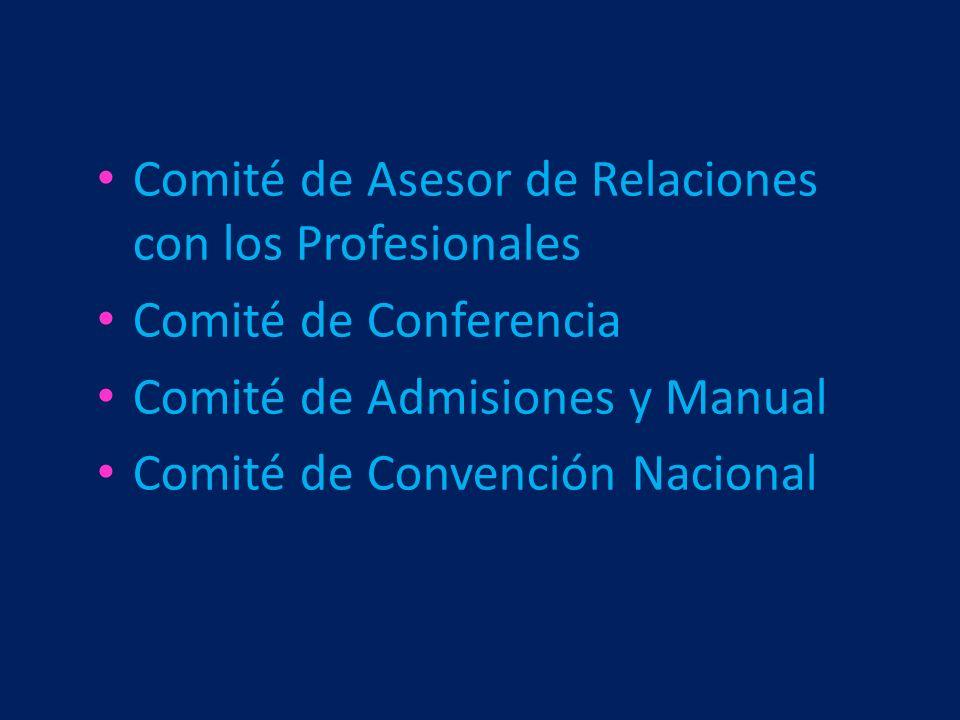 Comité de Asesor de Relaciones con los Profesionales