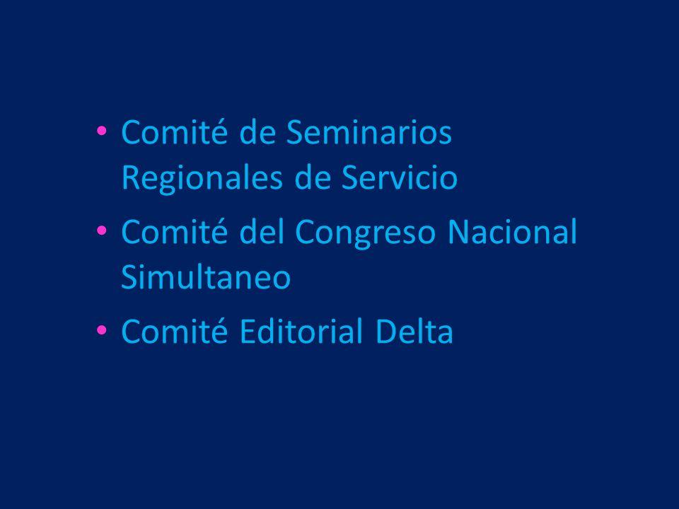 Comité de Seminarios Regionales de Servicio