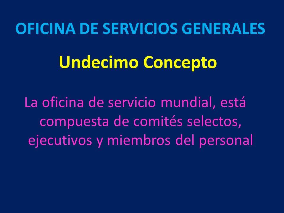 OFICINA DE SERVICIOS GENERALES