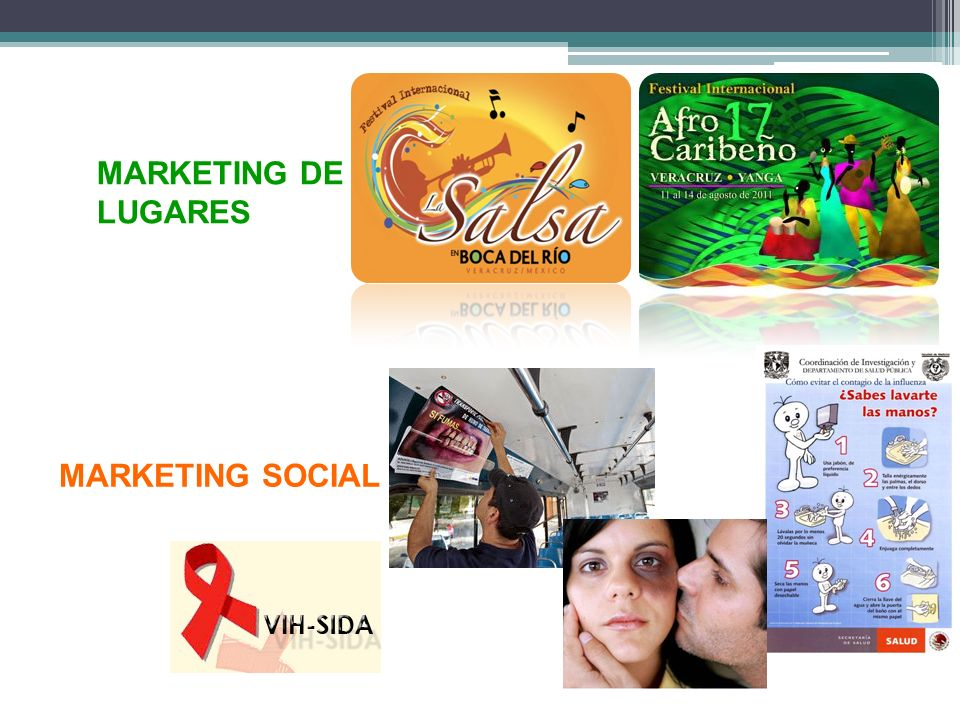 MARKETING DE LUGARES MARKETING SOCIAL