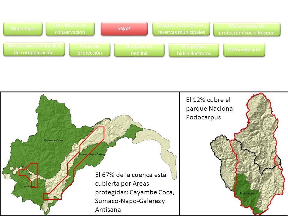El 12% cubre el parque Nacional Podocarpus