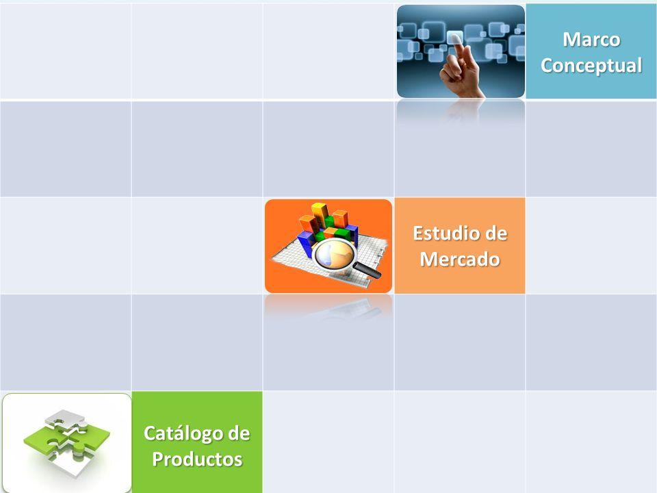 Marco Conceptual Estudio de Mercado Catálogo de Productos