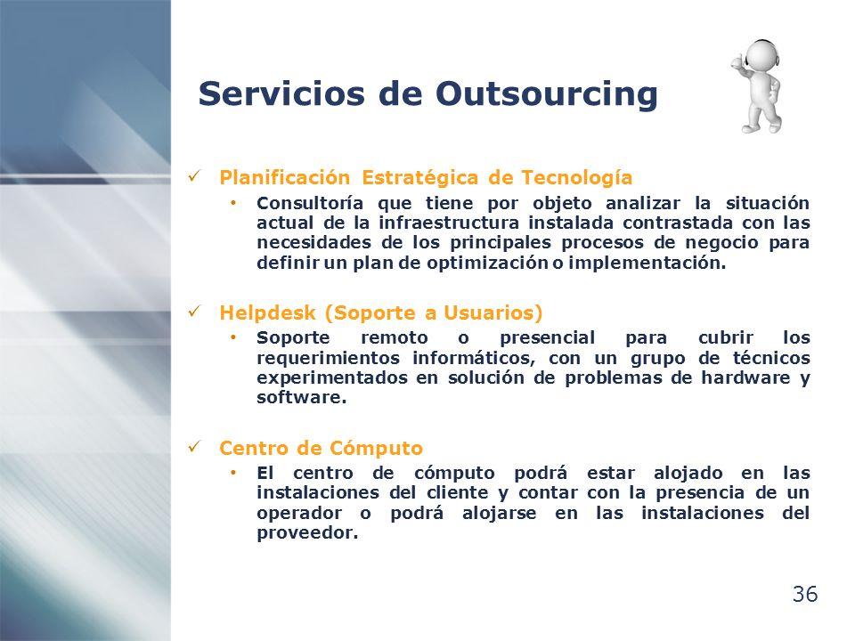 Servicios de Outsourcing